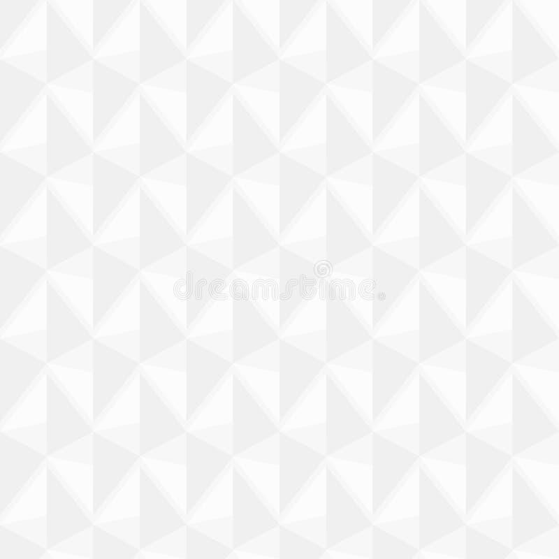 Struttura bianca - fondo senza cuciture di vettore illustrazione vettoriale