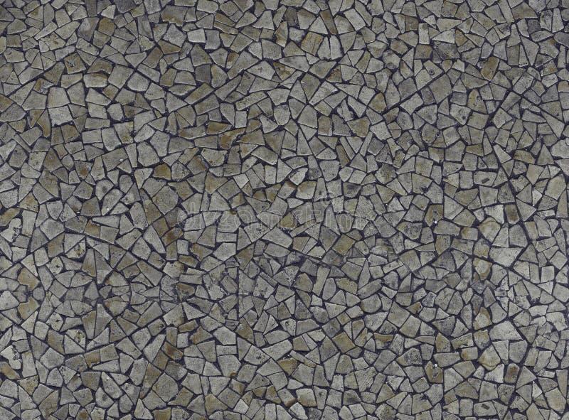 struttura bianca Nero del pavimento delle rocce immagine stock libera da diritti