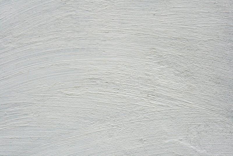 Struttura bianca spazzolata della parete fotografie stock libere da diritti