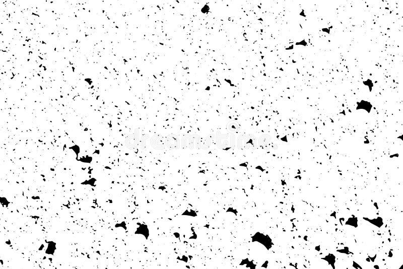 Struttura in bianco e nero afflitta di vettore di lerciume di semitono - montagna fotografia stock
