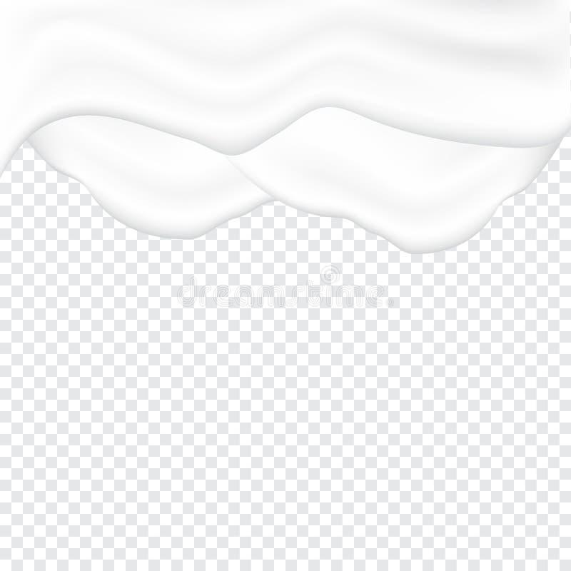 Struttura bianco panna liquida royalty illustrazione gratis