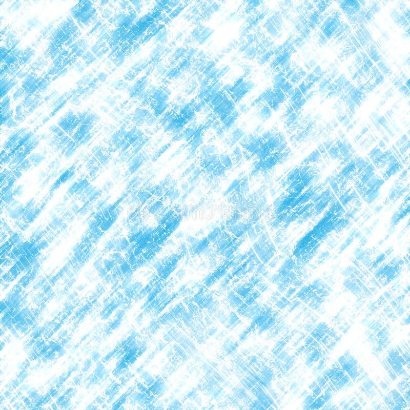 Struttura blu del ghiaccio illustrazione di stock