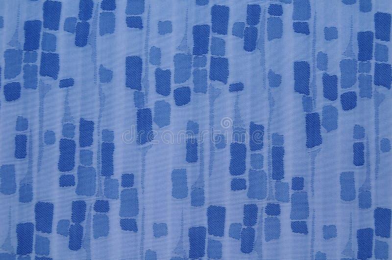 Struttura blu del tessuto immagini stock