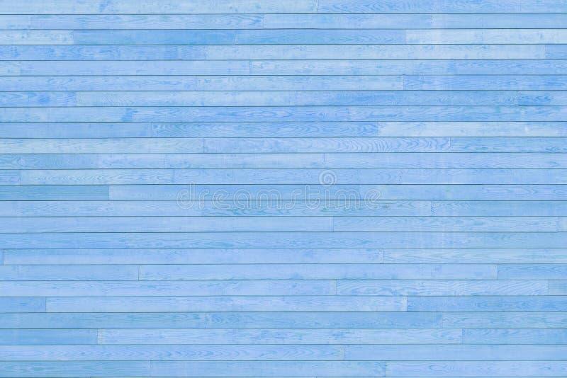 Struttura blu delle stecche di legno fotografia stock libera da diritti