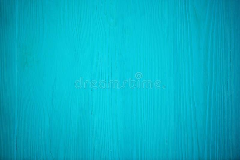 Struttura blu di legno Bordo blu del legname con le linee stagionate della crepa Sfondo naturale per progettazione elegante miser fotografia stock libera da diritti