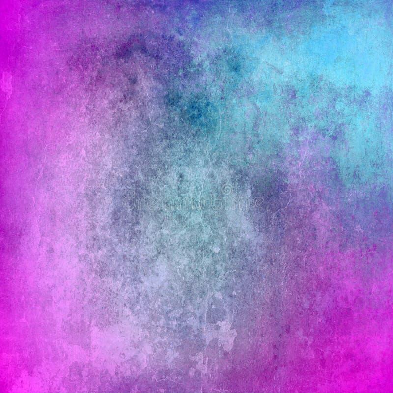 Struttura blu e porpora astratta di lerciume per fondo fotografia stock