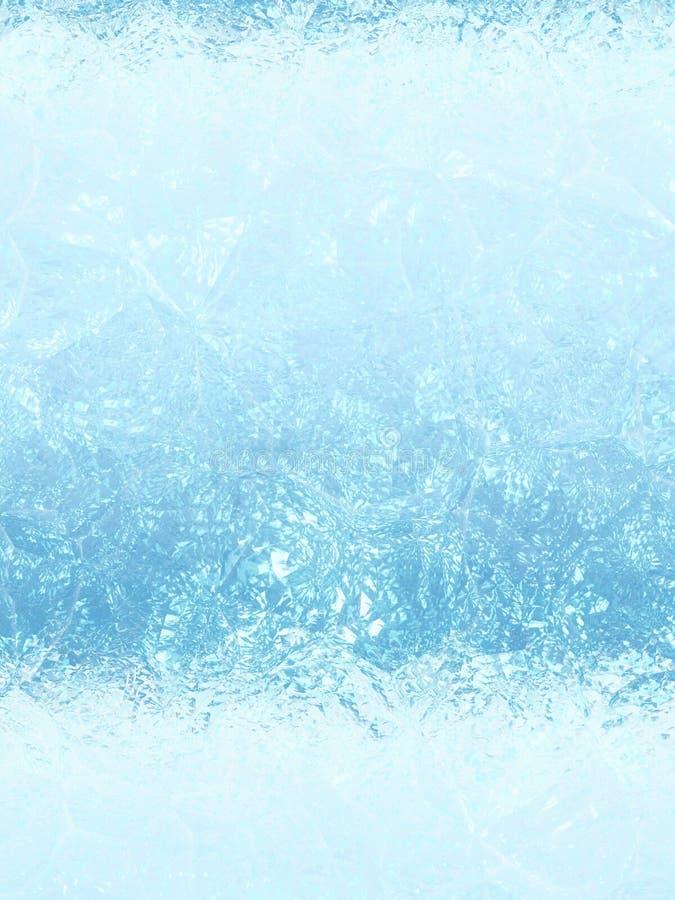 Struttura blu ghiacciata del fondo fotografie stock