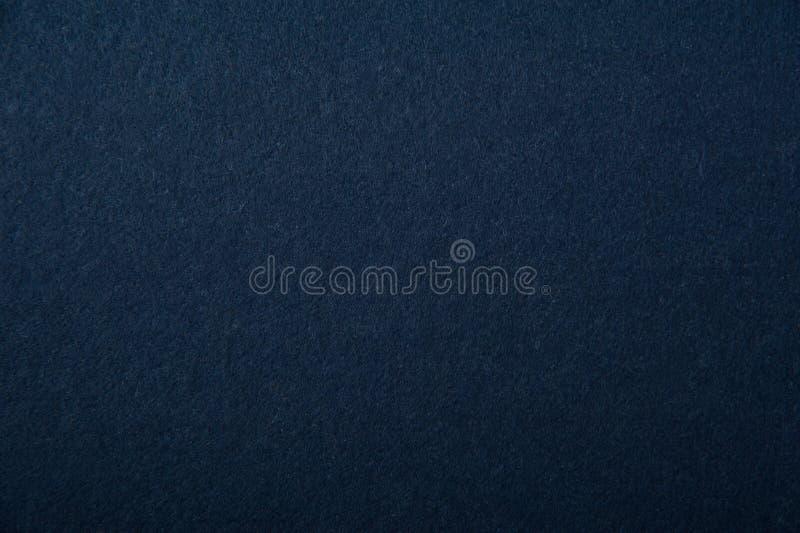 Struttura blu scuro del feltro immagini stock libere da diritti