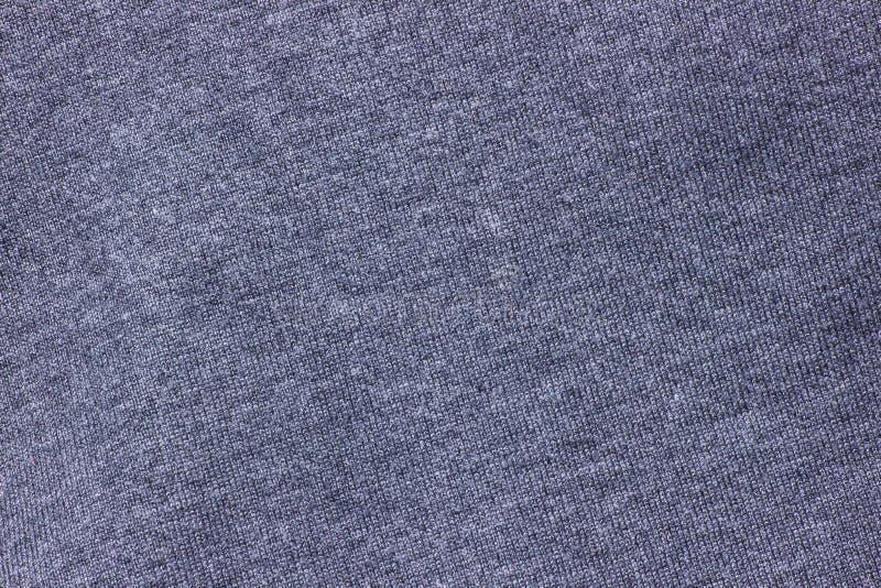 Struttura blu scuro del fondo del panno fotografia stock libera da diritti