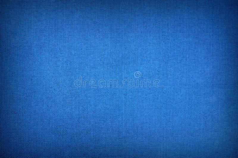 Struttura blu scuro della tela fotografia stock libera da diritti