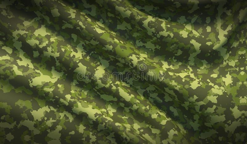 Struttura cachi del tessuto di guerra del cammuffamento militare del fondo immagine stock
