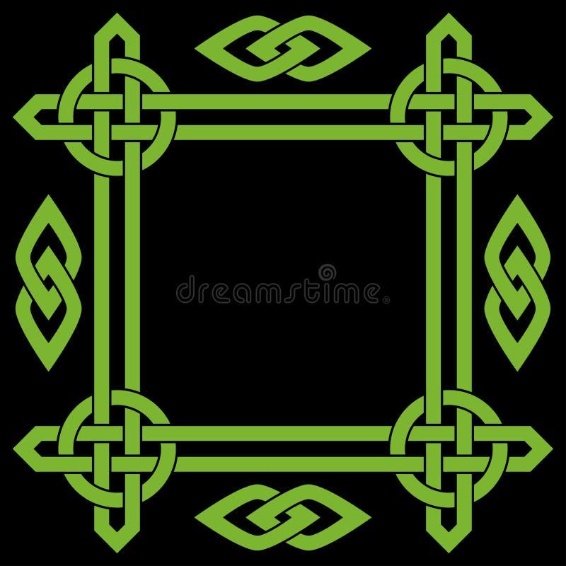 Struttura celtica del confine royalty illustrazione gratis