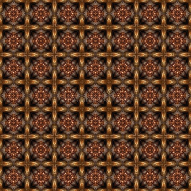 Download Struttura In Cioccolato E Dorato Illustrazione di Stock - Illustrazione di struttura, ripetuto: 30830407