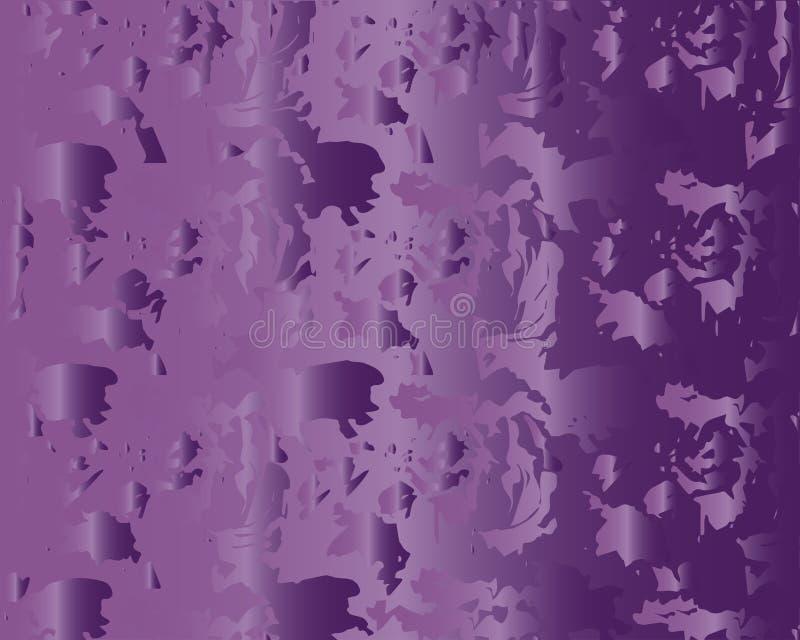 Struttura colorata nei toni porpora Fondo variopinto in tonalità viola illustrazione vettoriale
