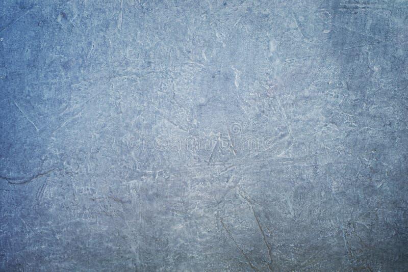 Struttura concreta blu scuro Superficie, fondo e parete naturali immagini stock