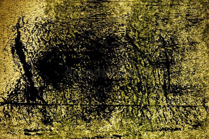 Struttura concreta ultra gialla del cemento di lerciume, superficie della pietra, fondo della roccia immagine stock libera da diritti