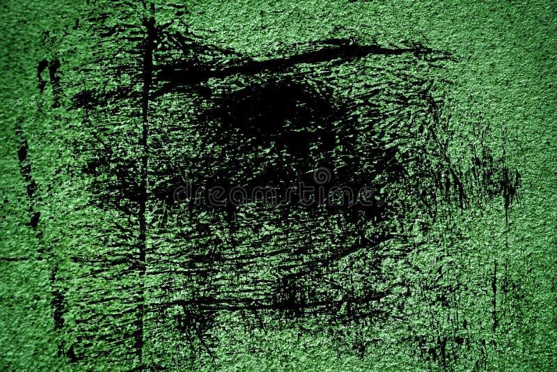 Struttura concreta ultra verde del cemento di lerciume, superficie della pietra, fondo della roccia fotografie stock