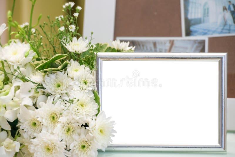 Struttura d'annata in bianco della foto fotografia stock