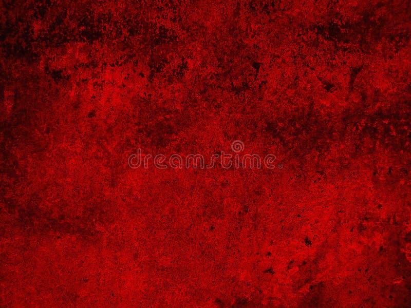 Struttura d'annata del fondo rosso astratto di lerciume immagine stock