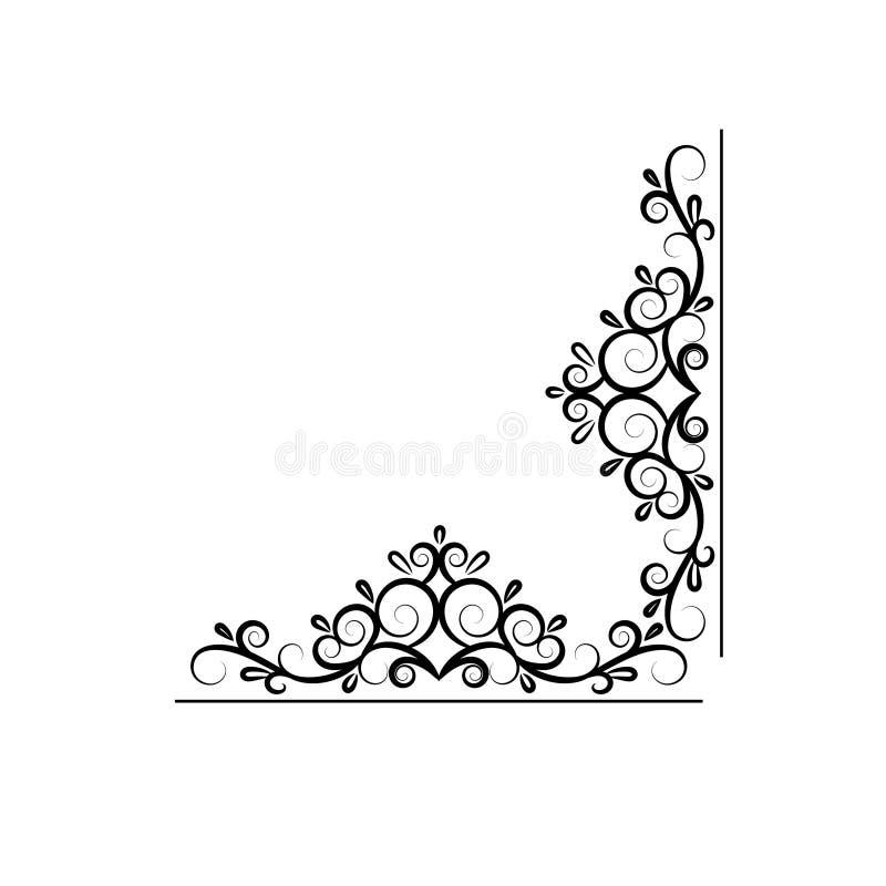 Struttura d'annata di turbinio di vettore illustrazione di stock
