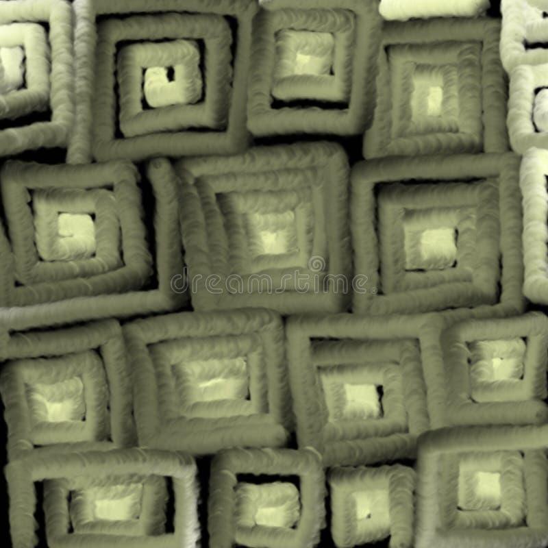 Struttura d'ardore dei quadrati grigi, astrazione per un fondo royalty illustrazione gratis