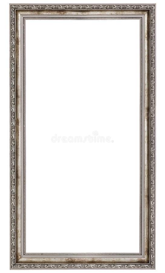 Struttura d'argento lunga fotografie stock