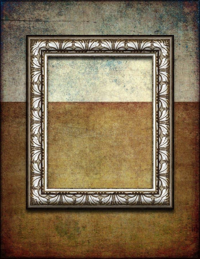 Struttura d'argento scura di lerciume fotografie stock libere da diritti