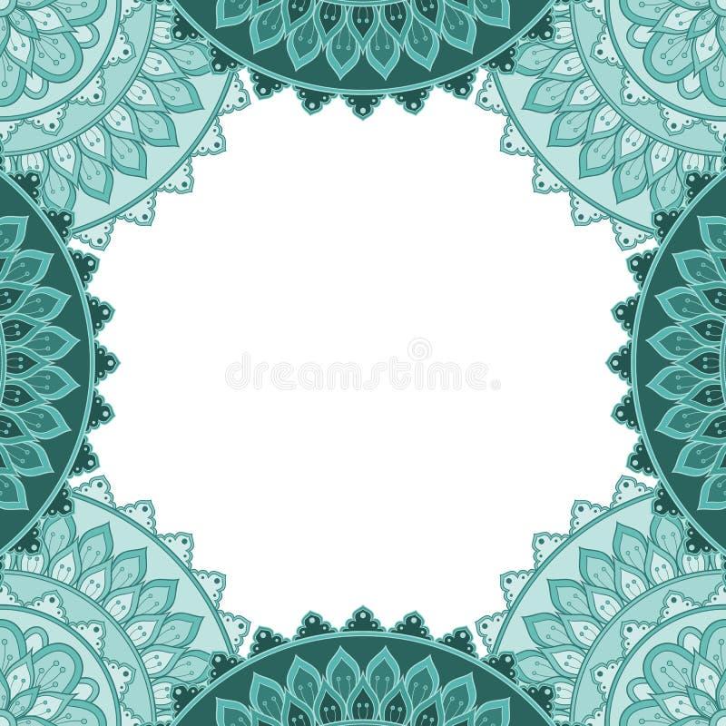 Struttura decorativa etnica illustrazione di stock