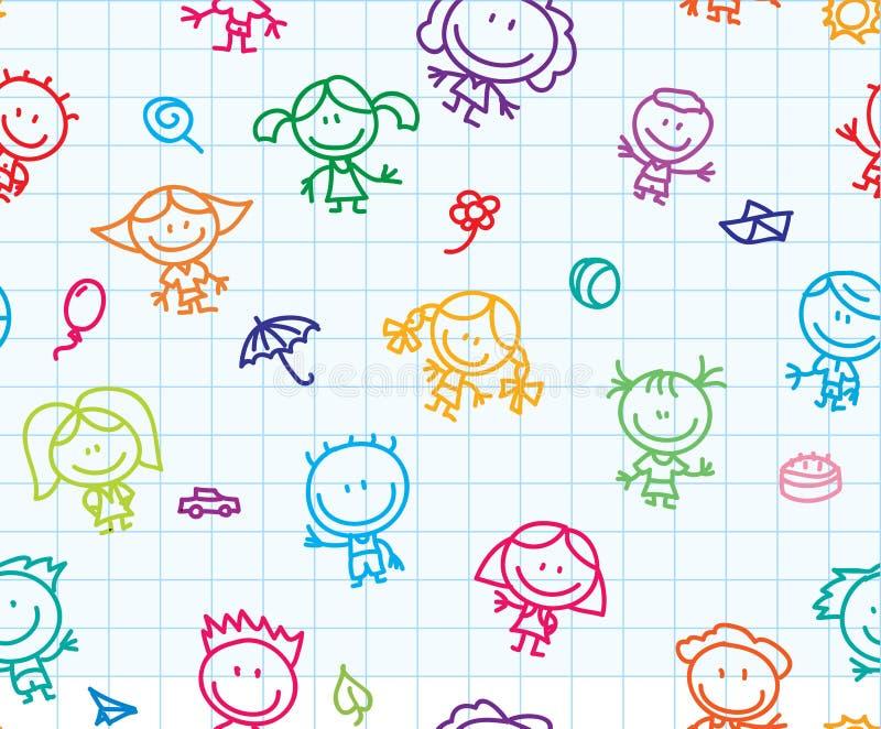 Struttura dei bambini royalty illustrazione gratis