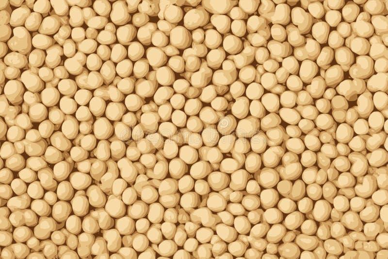 Struttura dei fagioli della soia, fondo di struttura del tofu fotografia stock