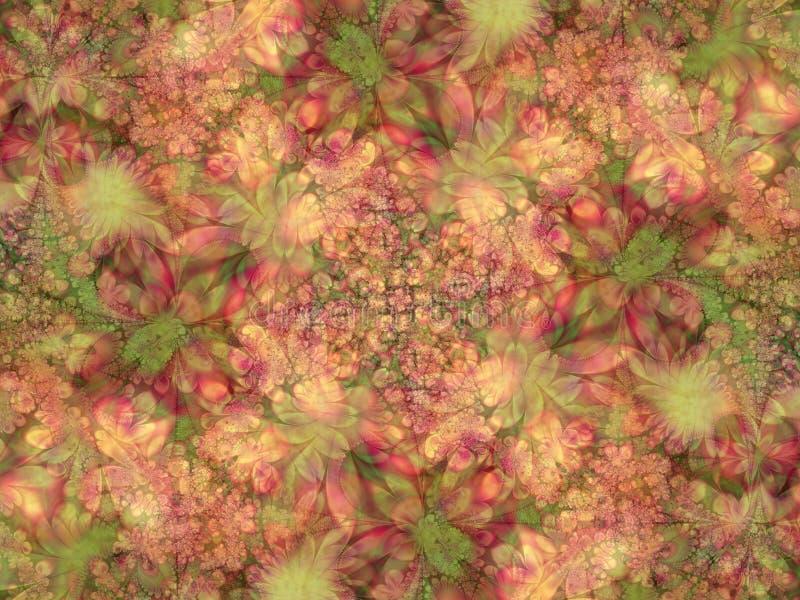 Struttura dei fogli dei petali dei fiori fotografie stock