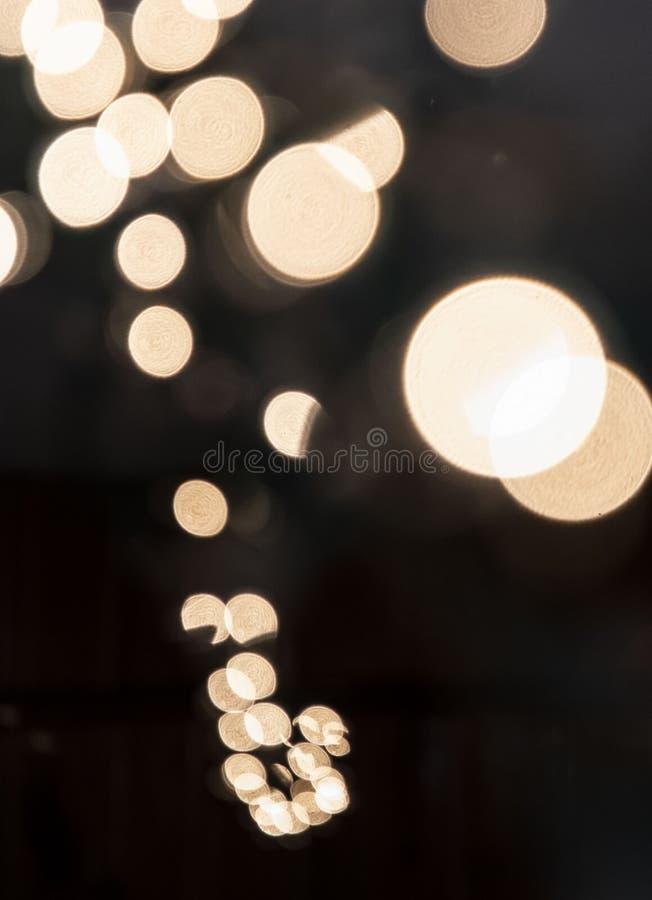 Struttura del bokeh delle luci fotografia stock