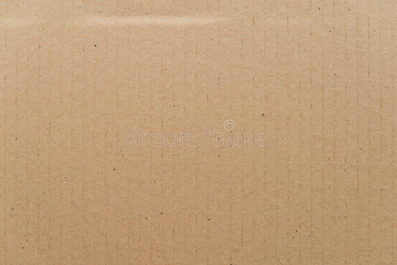 Struttura del cartone, carta marrone fotografia stock