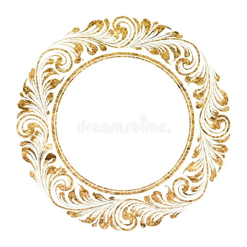 Struttura del cerchio illustrazione di stock