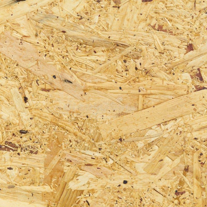 Struttura del compensato e fondo, struttura di legno marrone chiaro compressa immagini stock