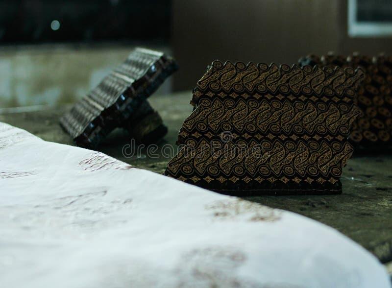Struttura del creatore del batik fotografia stock