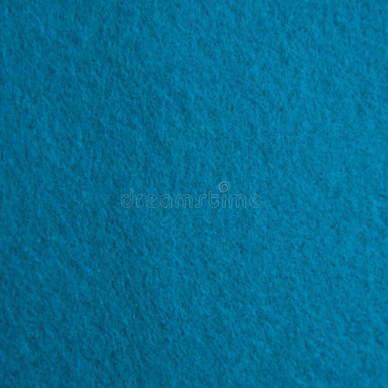 Struttura del feltro del blu fotografie stock