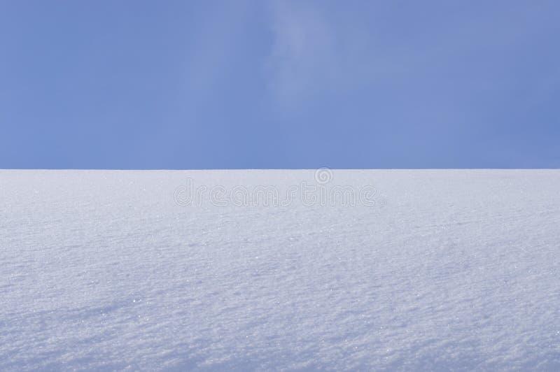 Struttura del fileld della neve fotografia stock