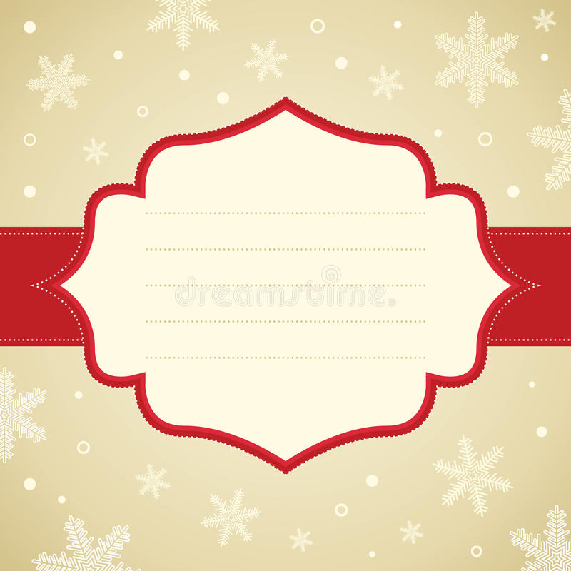 Struttura del fiocco di neve di Natale. royalty illustrazione gratis