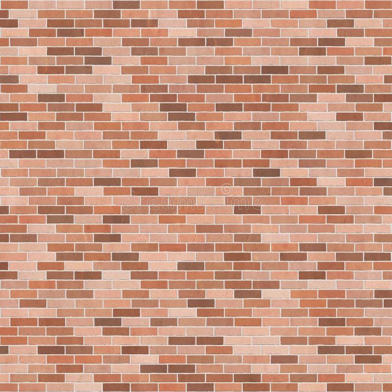 Struttura del fondo con il muro di mattoni marrone illustrazione di stock
