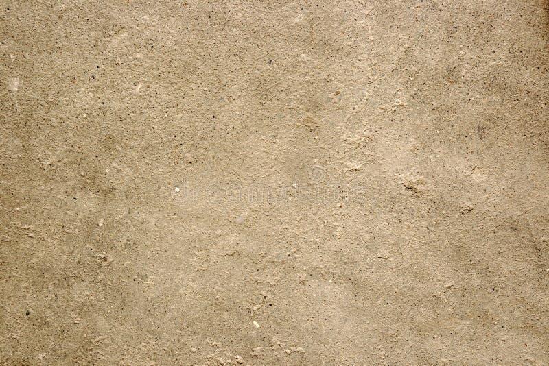 Struttura del fondo concreto del pavimento per progettazione dell'estratto della creazione, effetto d'annata con rumore e grano fotografia stock
