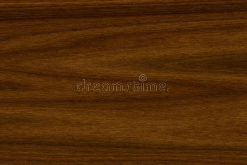 Struttura del fondo del legno americano della noce illustrazione vettoriale