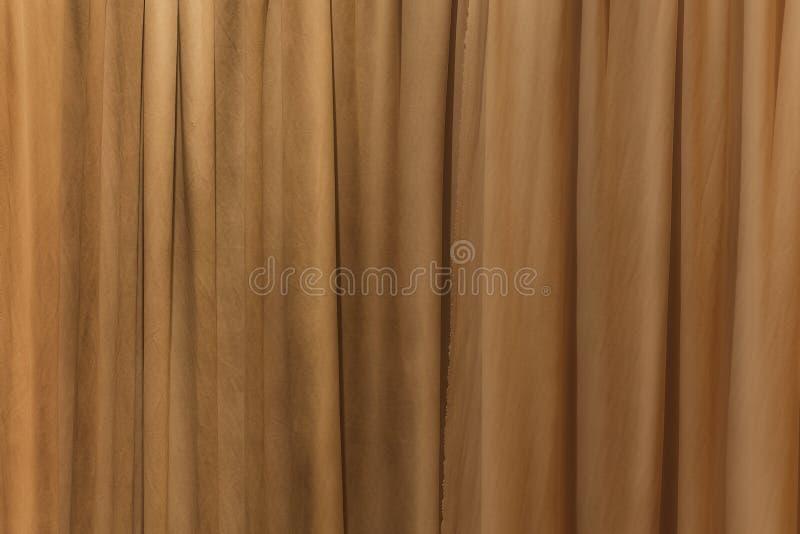 Struttura del fondo della parete del tessuto del panno della tenda di Wave fotografie stock libere da diritti
