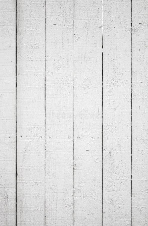 Struttura del fondo della parete di legno bianca fotografie stock