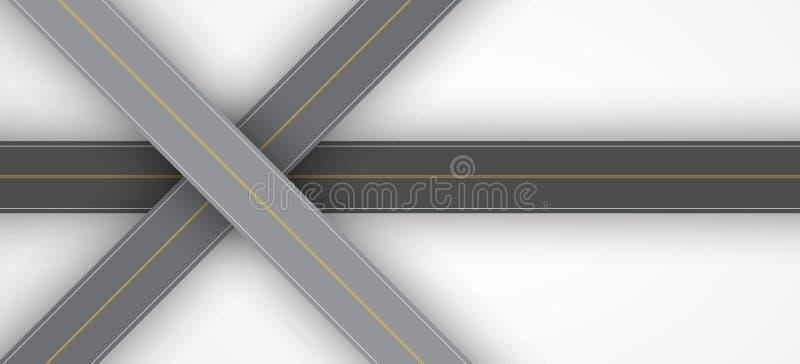 Struttura del fondo della strada di asfalto ruvido illustrazione vettoriale