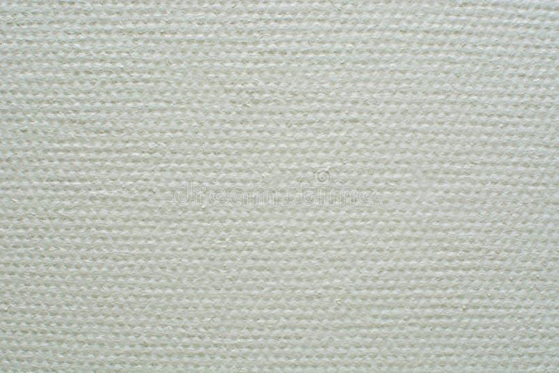 Struttura del fondo della tela del Libro Bianco immagine stock