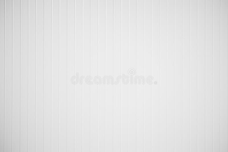 Struttura del fondo di alta risoluzione della parete di legno bianca per progettazione del contesto immagini stock