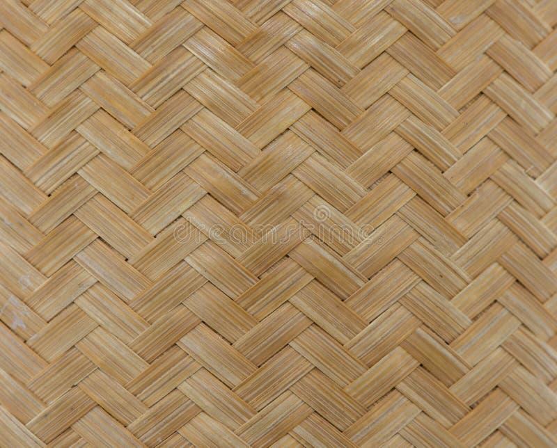Struttura del fondo di bambù della parete fotografia stock