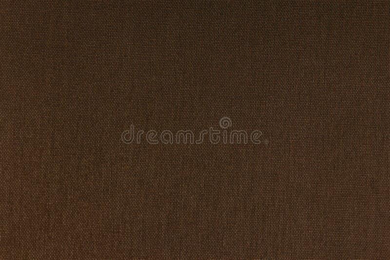 Struttura del fondo di lerciume della tela di Brown fotografia stock