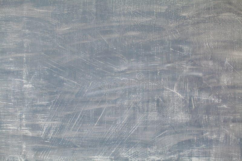 Struttura del fondo grigio e d'argento di colore Struttura astratta dello stucco del gesso, fondo fatto a mano artistico immagine stock